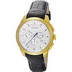 Joop Legend Chrono - Reloj de cuarzo para hombre, con correa de cuero, color negro