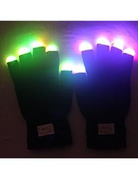 Guantes Kimberleystore con luz LED para fiestas