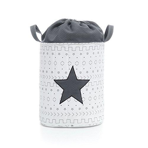 Alondra 619-179 - Saco de juguetes textil acolchado, color gris