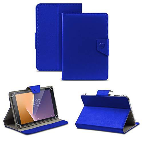 NAUC Tablet Tasche kompatibel für Vodafone Tab Prime 6/7 Schutzhülle Hülle Case Schutz Cover, Farben:Blau