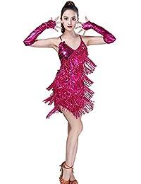 5d5f49f50 Amazon.es: vestidos baile latino - Rosa: Ropa