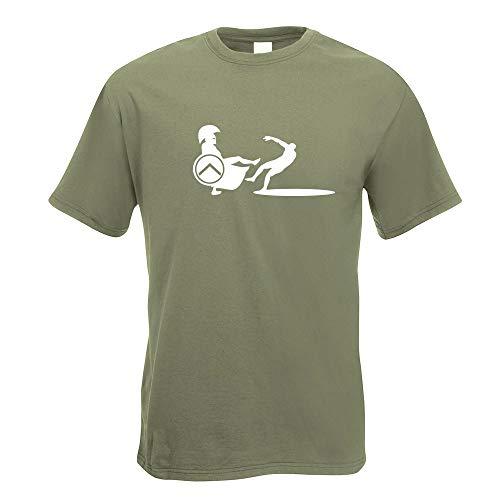 Spartaner Sparta Kämpfer II T-Shirt Motiv Bedruckt Funshirt Design Print