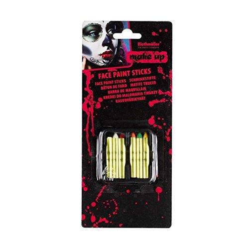 AMSCAN Bâton pour Maquillage Halloween - - Maquillage Et Kostüm Halloween