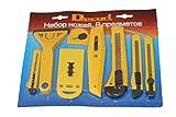 Set 8-teilig Universalmesser Cuttermessser Teppichmesser Cutter auch zum Basteln Karton