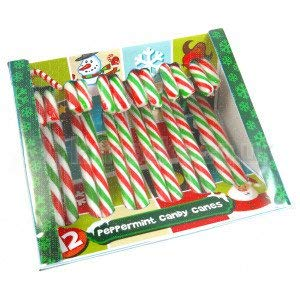 Red & White Candy Canes Box of 12 x 4 Boxes (48 canes)