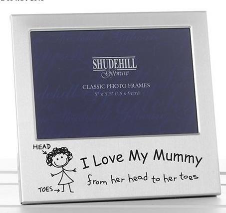 Shudehill Giftware I Love My Mummy Marco Fotos Navidad