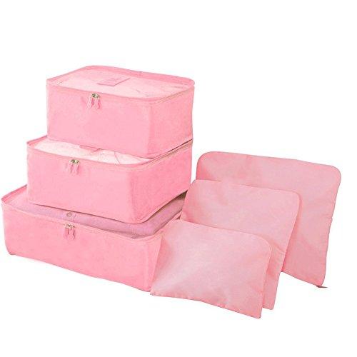 iTemer - Organizador para maletas  Rosa