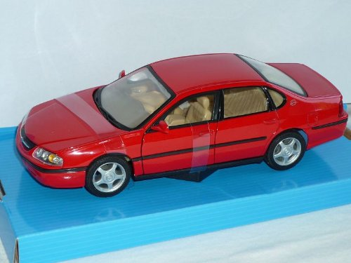 chevrolet-chevy-impala-limousine-rot-2001-1-24-welly-modellauto-modell-auto