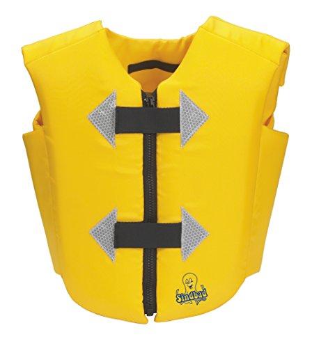 Beco 9646 - Chaleco flotador para aprender a nadar, color amarillo