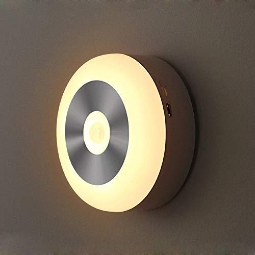 APRITECH Veilleuse night light Veilleuse LED Lampe Murale autocollante Capteur Automatique Veilleuse LED,lumiere led,lampe exterieure (lumière chaude)