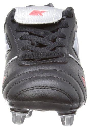 Kooga - Scarpe Rugby per bambini e ragazzi Noir (Noir/Gris)