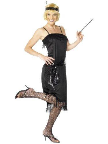 Kostüm Flapper 20s schwarz