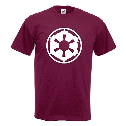 KIWISTAR - imperium T-Shirt in 15 verschiedenen Farben - Herren Funshirt bedruckt Design Sprüche Spruch Motive Oberteil Baumwolle Print Größe S M L XL XXL Burgund