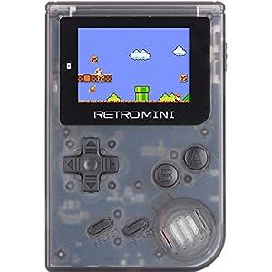 HJL Handheld-Spielgerät, tragbarer Handheld-Konsole HD-Bildschirm/eingebautes Spiel/Support herunterladen Geburtstagsgeschenke für Kinder