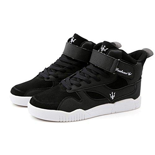 FZUU Homme Baskets Mode Hip Hop Chaussures Street Occasionnelles Marée Sneaker