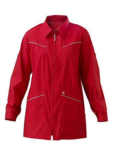 SIGGI - Casacca 'Sandy' in poliestere 65% cotone 35%, colori vari. Peso 130 g/mq - Taglia: M - Varianti: rosso