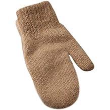 sunhoyu Invierno Guantes, Mitten – Guantes de Malla Sin Dedos Twist para guantes de invierno