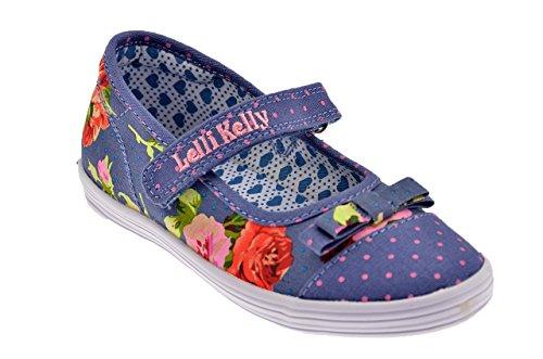 Lelli Kelly New Sprint Csv Ballerines Neuf Chaus. Bleu