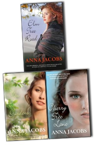 Anna Jacobs Wiltshire Girls 3 Books Collection Pack Set RRP: £23.97 (Cherry Tree Lane, Yew Tree Gardens, Elm Tree Road)