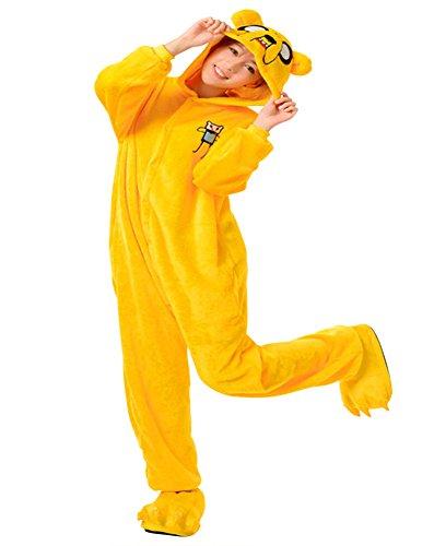 Moollyfox Kigurumi Pyjama Adulte Anime Costume Cosplay Vetements Halloween Animaux Onesie Deguisements S Chien