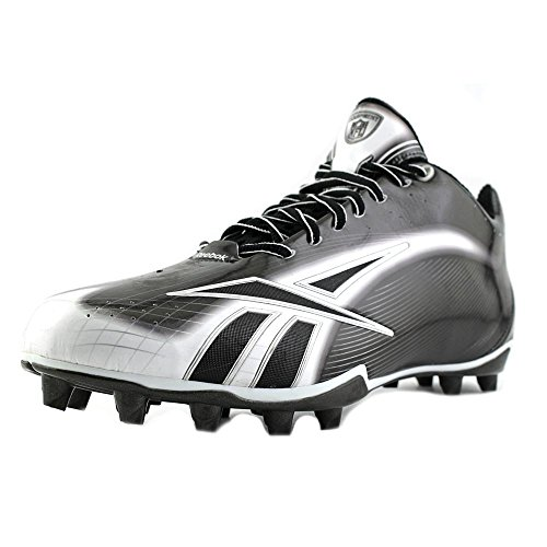 Reebok NFL Burner Spd LT 5/8 M4 Synthetik Klampen Black/White/Silver