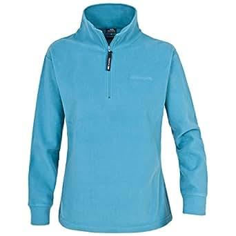 Trespass Ladies Pera Micro Fleece - Colour: Turquoise, Size: XS
