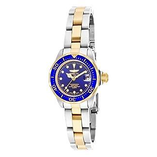 Invicta 17035 Pro Diver Reloj para Mujer acero inoxidable Cuarzo Esfera azul