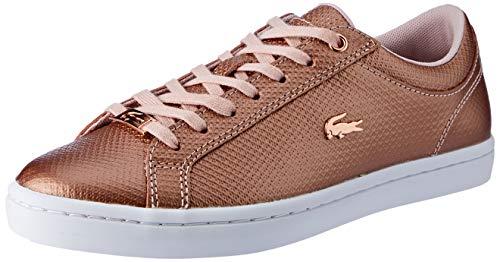 Lacoste Damen Straightset 318 2 Caw Sneaker, Pink (Lt Pnk/Wht 208), 39 EU