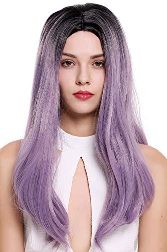 WIG ME UP ® - ZM-1791-T2403R1B peluca mujer larga