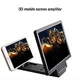 lzndeal Amplificateur de Film 3D Zoom agrandi 3X avec écran de téléphone Vidéo...