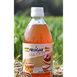 Fruigar apple cider vinegar with mother 500 ml (An Initiative by Punjab agricultural University Alumni) specially prepared for weight loss and increase digestion of stomach