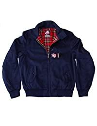 Warrior Original Clothing Harrington Jacket Navy