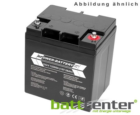 420a Batterie (12V 28Ah RPower® AGM-Batterie)