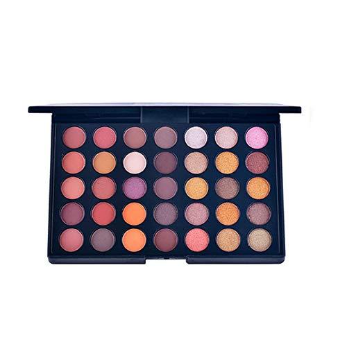 Sayla Lidschatten Palette 35 Farben Shimmer Matte Lidschatten Lidschatten-Palette Kosmetik-Make-up-Tool (B) -