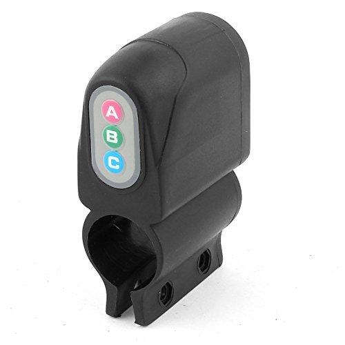 Schwarz Kunststoff Sicherheit Alarm Ton Waring Sperre Bell für Motorrad -