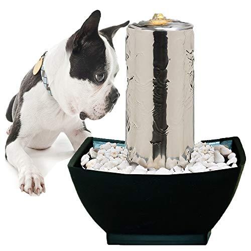 Köhko Haustier Trinkbrunnen Katzen und Hunde Wasserspender Säulenformen 25002