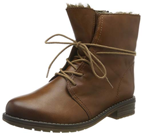 Remonte Damen R5072 Combat Boots, Braun (Chestnut/Chestnut 22), 39 EU