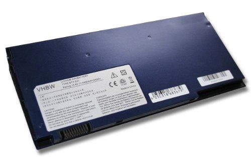 Batterie LI-ION 4400mAh 14.8V en bleu foncé dark blue pour MSI X320, X340, X 320 340 remplace BTY-S31