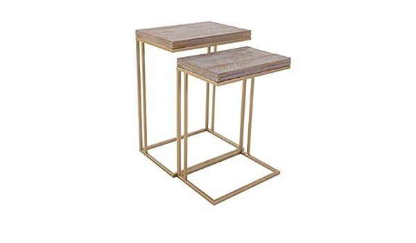 PureDay Tavolino Fireplug Hydrant 79 cm alto ca metallo//legno stile industriale