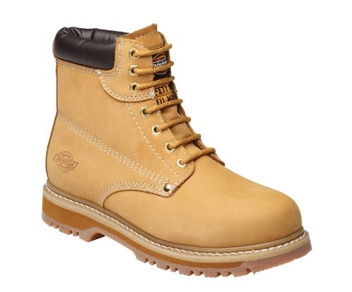 Dickies Cleveland Super stivali di sicurezza Honey Nubuck