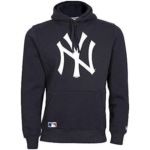 New Era Ne92233Fa15 Nos Po Neyyan - Felpa-Linea New York Yankees da uomo, colore Blu, taglia XXL