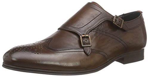 Hudson London Castleton, Derby Homme - Marron (Tan), 46 EU