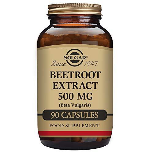 Solgar Remolacha Extracto 500 mg Cápsulas vegetales