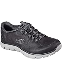 Skechers Womens Empire Latest News Charcoal Synthetic Trainers 38 EU