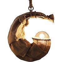 El estilo pastoral Industria metálica Luz Pendiente de la personalidad creativa de la lámpara de la