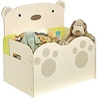 Preisvergleich für Worlds Apart 519SNG01E Spielzeugkiste im Bärendesign für Kinder – Aufbewahrungstruhe für das Kinderzimmer