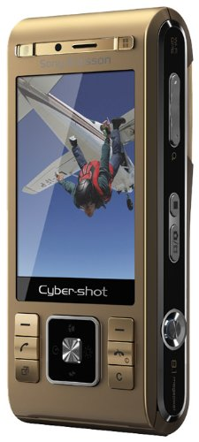 Sony Ericsson C905 gold Handy