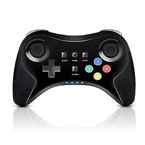 PowerLead Wireless Gaming Controller für Nintendo Wii U wiederaufladbar Bluetooth Dual Analog Game Controller