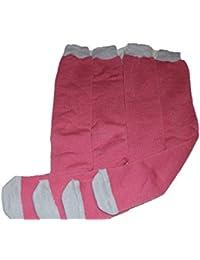 4 pairs womens pink ski,thermal socks