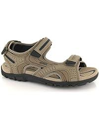 bec8f7f1cd6 Amazon.es  Piel - Sandalias y chanclas   Zapatos para hombre ...